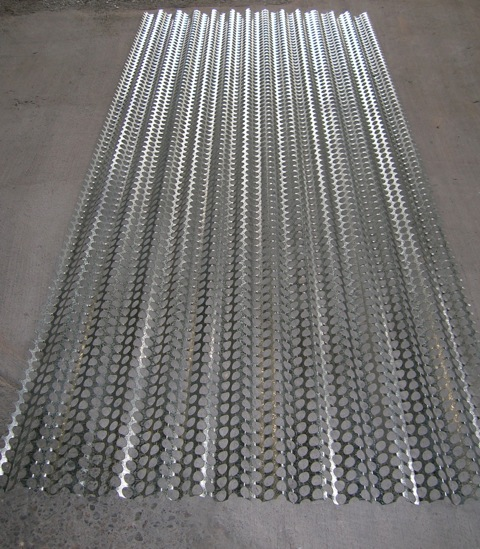 Ripple Iron Perforated Acoustic Sheet 171 Ripple Iron