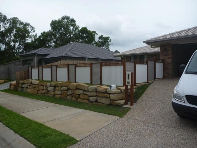 ripple iron fence panels