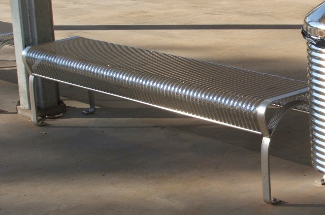 stainless steel bench seat