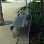 Pipe frame seat ripple iron perf skin type 16 , vandal resistant