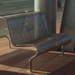 stainless steel ripple iron pipe frame seat