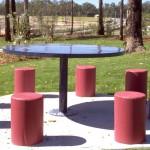 Circular Steel Table